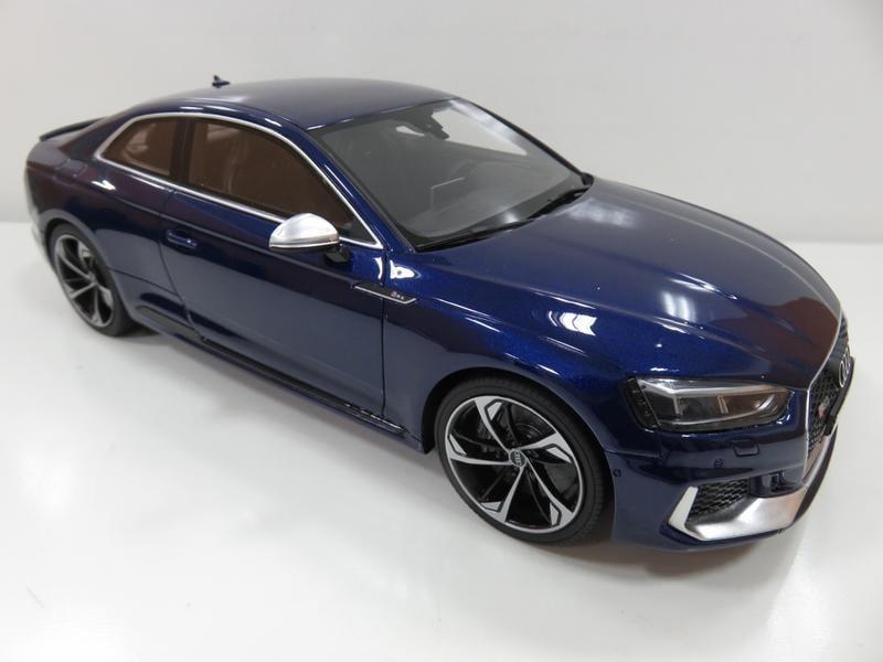 宗鑫貿易 GT SPIRIT GT062 Audi RS5 金屬藍