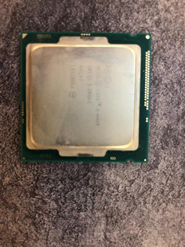 Intel core 四代 i5-4460 CPU 1150 附原廠風扇 4440 4570