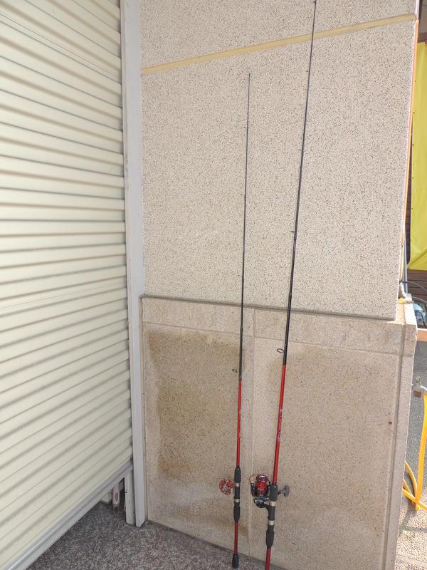 C/P值最高 輕磅路亞竿. PS 6尺 直柄 180cm 鐵板 碳纖 CARBON 海釣 磯釣 池釣竿