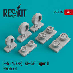 1/48 RS48-0005 Northrop F-5E/F, F-20, AIDC AT-3 wheel set