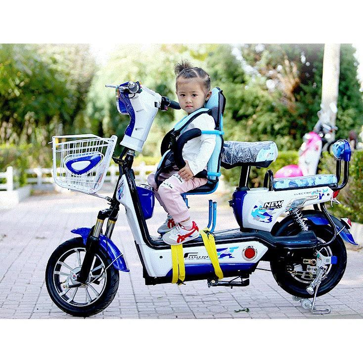 電動車兒童座椅前置摩托踏板車自行車小寶寶安全座椅踏板車座椅(限宅配)