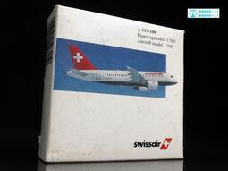 A-52 : HERPA 1/500 瑞士航空 SWISSAIR A 319-100 508919   富貴玩具店