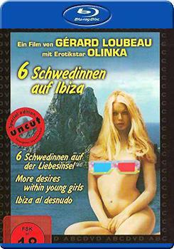 BD25G藍光影片:六個瑞典人在伊比沙 :Sechs Schwedinnen auf Ibiza :BD-15297