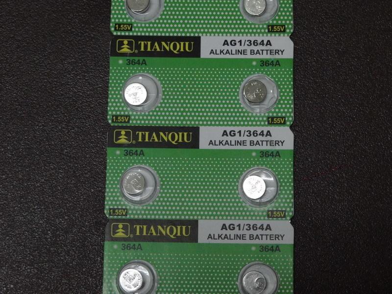 現貨天球金裝原廠鈕扣電池 AG1 LR621 364 LR60 1.5V 水銀電池