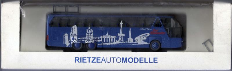HO 1/87 Rietze 64524 Neoplan Starliner SHDL 南柏林