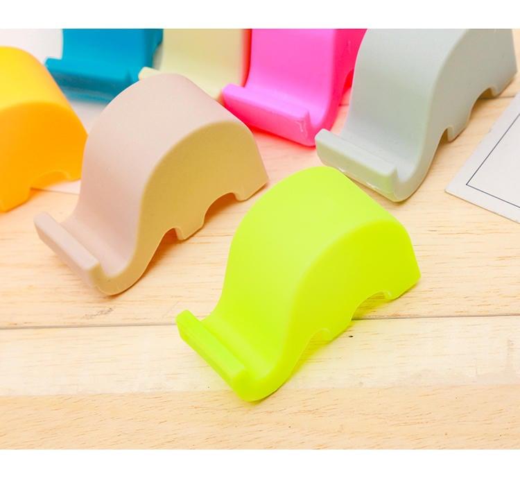 創意可愛大象手機支架 (顏色隨機出貨)
