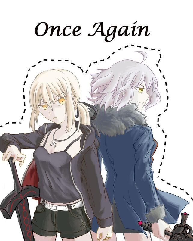 [Fate/GO]《Once Again》同人小說/黑王x黑貞/SnowTrace拓語
