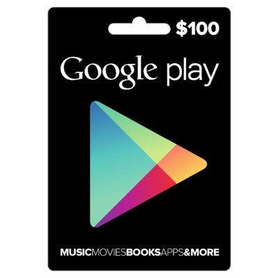 ◎西西小舖◎ 序號 美國 Google play gift card 100 US 美金 安卓 谷歌