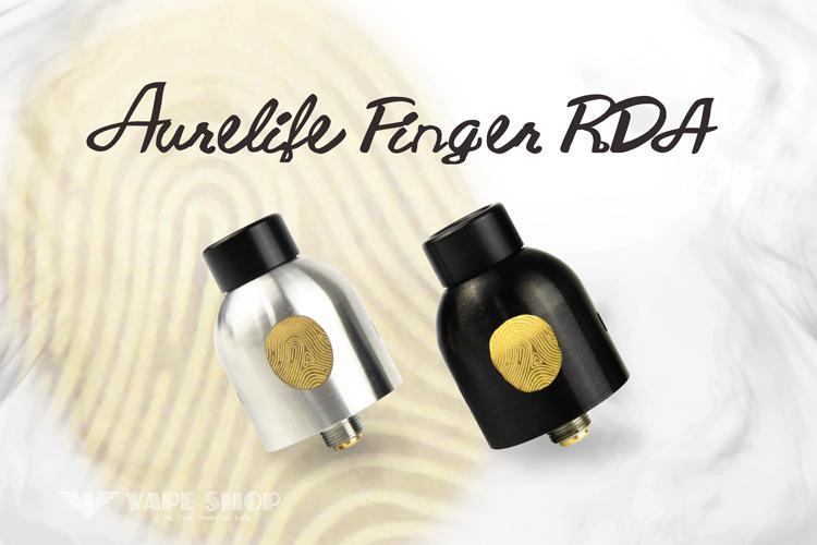 【 沃德維普】AURELIFE FINGER RDA (金手指) 絕非電子 煙 煙油
