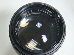 蒙城 L46 minolta MAKINAR 1:2.8 f=135mm 金屬玻璃鏡 乾淨無霉 濾鏡尺寸55mm