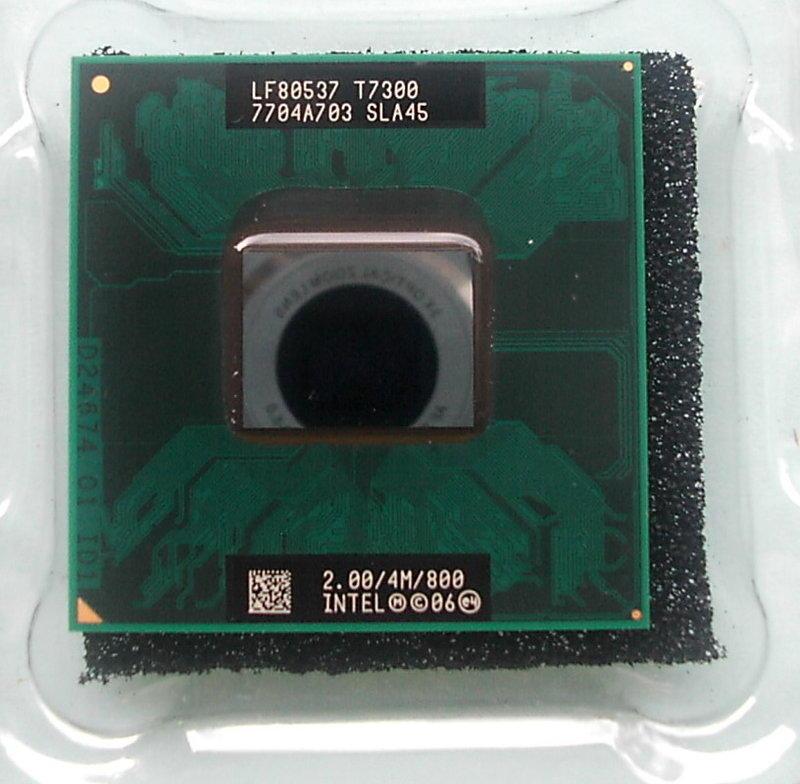 【新明電腦】Intel T7300 雙核心 筆電處理器 965晶片才有支援 含運價250元