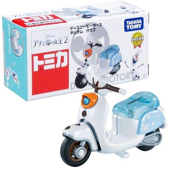 ^.^飛行屋(全新品)TOMICA 多美小汽車 Disney motors~迪士尼系列~冰雪奇緣2-雪寶摩托車