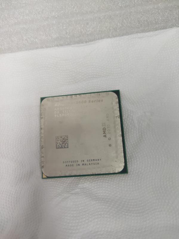 AMD A6-3650 Processor AD3650WNZ43GX 2.6GHz CPU FM1 腳位