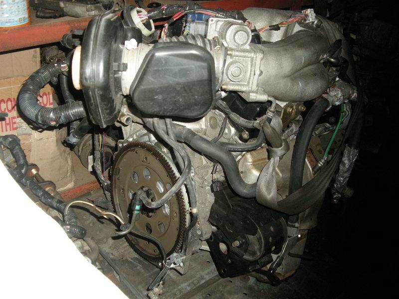 外匯進口日產VQ35前驅引擎零件總成