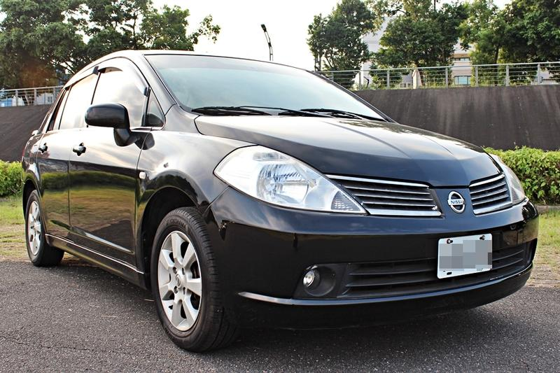 2007年 日產 Tiida 1.8 4D IKEY 實跑6萬多 免頭款 全額貸 0元交車