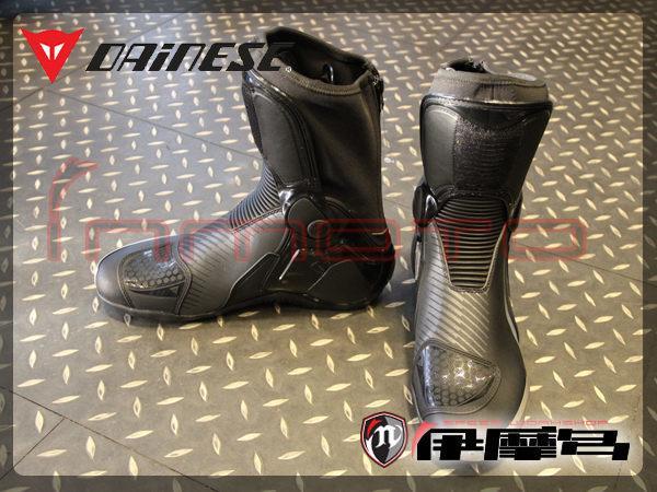 伊摩多※義大利 DAiNESE 車靴 TORQUE RS IN 賽車靴 金屬滑塊 黑炭灰 零碼出清 42