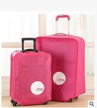 大特價加厚旅行箱套無紡布拉箱套保護套旅遊時尚行李箱防塵罩26吋