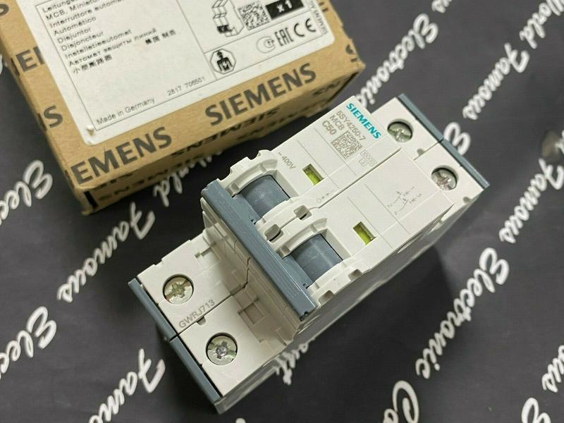 西門子SIEMENS 5SY4250-7 MCB-C50 50A 2P 無熔絲開關 斷路器 迴路開關 德國製