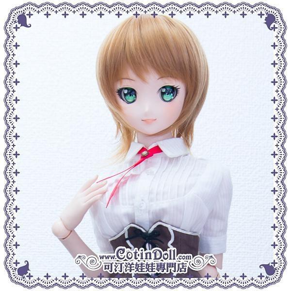 【可汀】Smart Doll / SD / DD 專用耐熱假髮 ADW071S07 摩卡棕