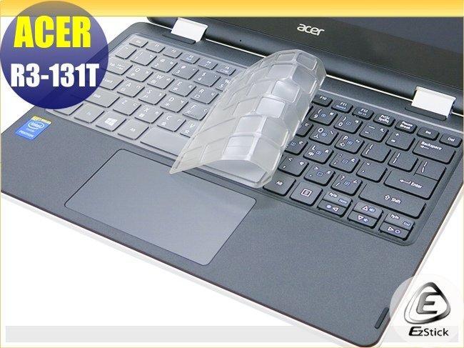 【Ezstick】ACER Aspire R3-131 T 系列 奈米銀抗菌TPU鍵盤保護膜