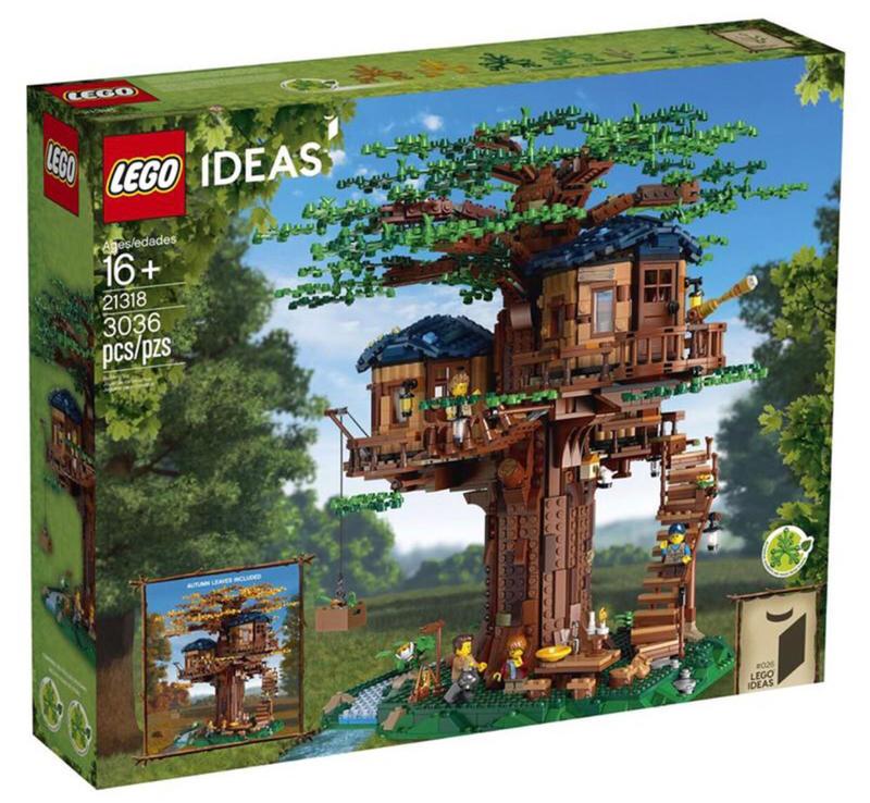 全新未拆 LEGO 樂高 21318 樹屋 非 21310