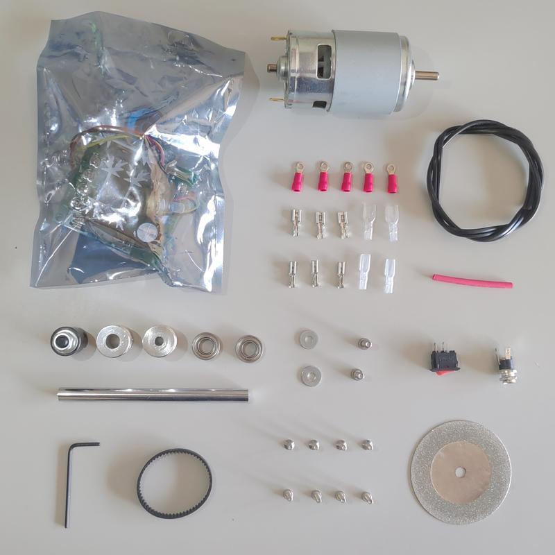 E2D DIY 研磨 切台 套件