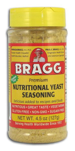 熊安心 美國 Bragg Premium NUTRITIONAL YEAST SEASONING 酵母調味料 (缺貨)