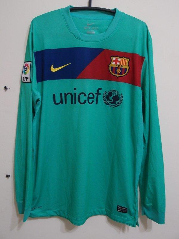 (絕版重現) 2010-11 巴薩客場長袖含Messi  Barcelona
