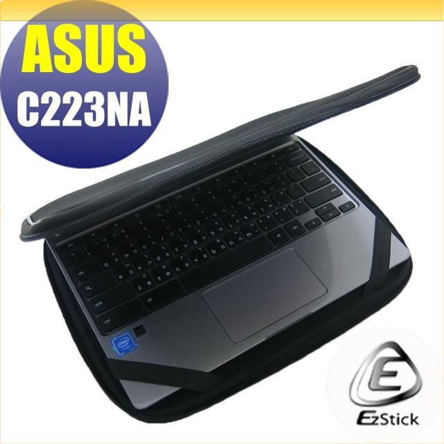 【Ezstick】ASUS Chromebook C223 NA 三合一超值防震包組 筆電包 組 (10W-L)