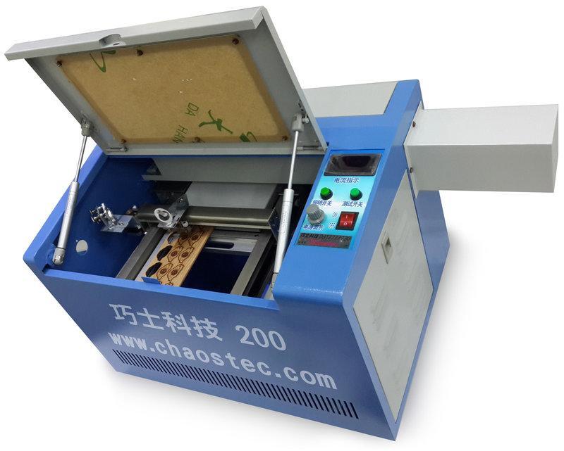 USB傳輸250型LASER桌上型迷你雷射雕刻機.刻章機.印章機