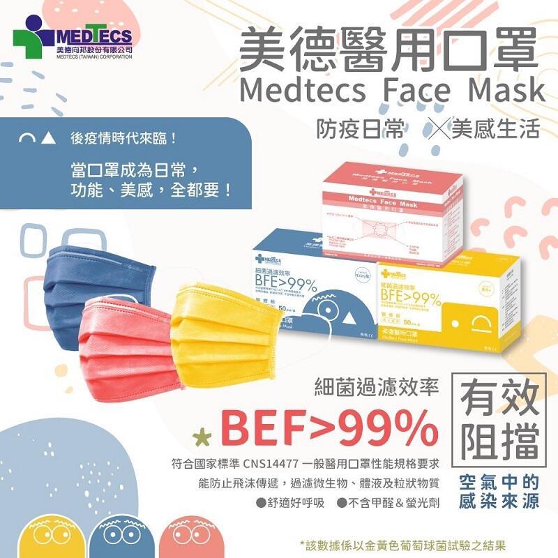台灣加油【醫療級】美德 二級 手術防護口罩 醫用口罩 醫療口罩 國家隊口罩 戰備口罩