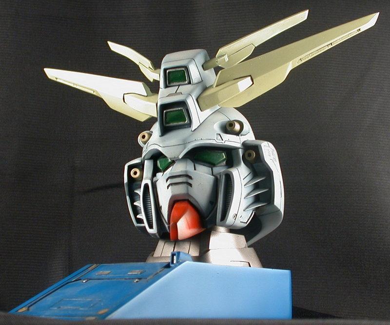 1/24 機動武鬥傳 God Gundam Head Top Desk