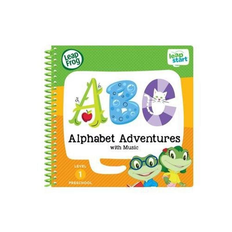 ☆天才老爸☆→美國【LeapFrog 跳跳蛙】幼兒2-字母ABC←點讀筆 LeapStart 點讀 英文 單字 文法 發