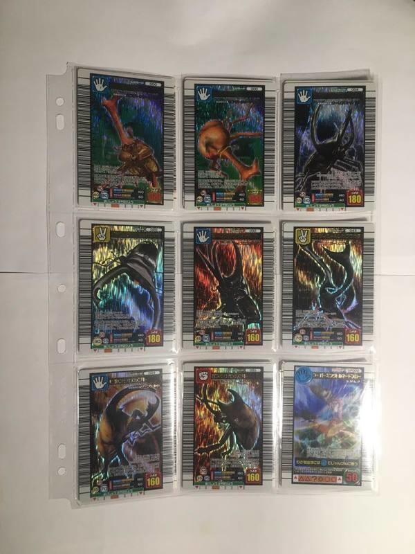 【小允的店】整套出售 日版正版 甲蟲王者 2006年第二彈 102張(11張閃卡,7張魔德,84張雨滴亮面普卡)