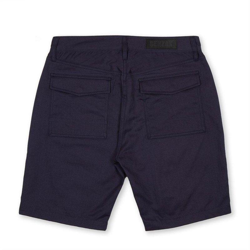 【BDD荷蘭職人品牌】Benzak 50s軍裝短褲 二戰魚骨紋 海藍色 8oz 日本布料 / XS-XXL