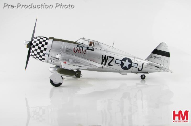 ☆預購01月底到貨☆全防◆軍機飛行館◆[1/48]HM(HA8457) P-47D Okie Duxford 1944