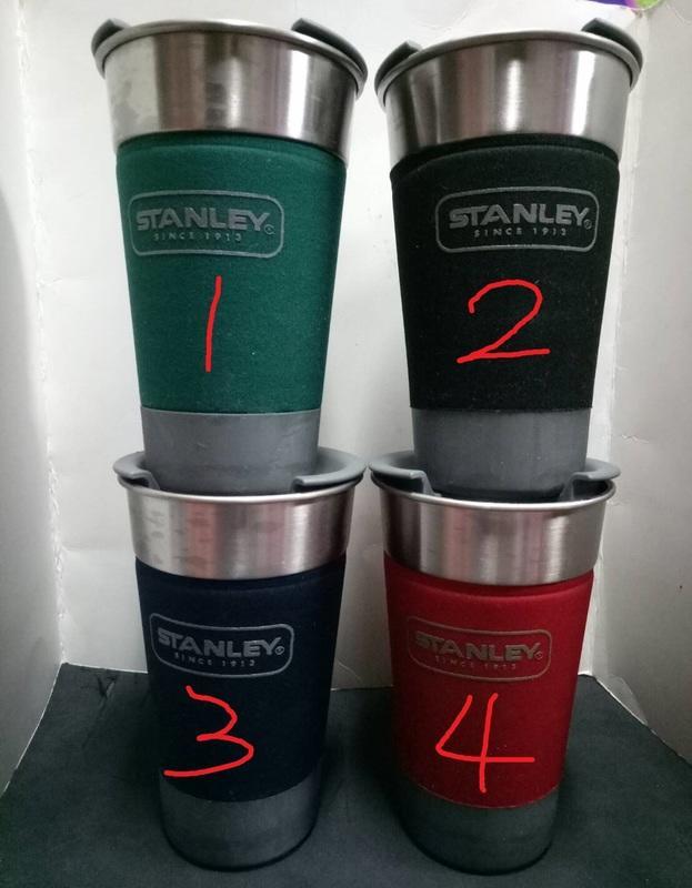 史丹利 STANLEY 不鏽鋼環保杯 不鏽鋼隨手杯 保冰杯 保溫杯 附上蓋 473ml  單個