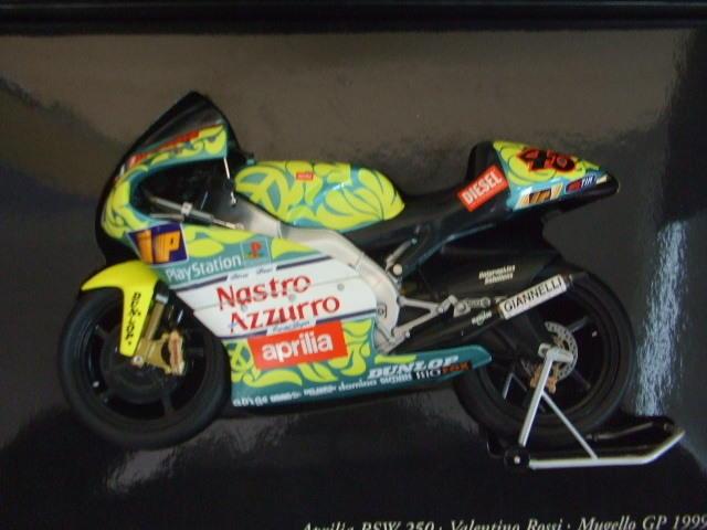Minichamps1/12 Aprilia RSW 250ccm V ・ Rossi Mugello GP 1999