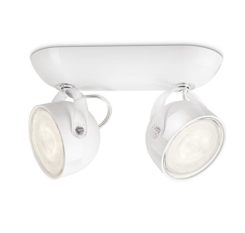 【lighting168】飛利浦53232 LED 6w 安怡雙頭投射燈