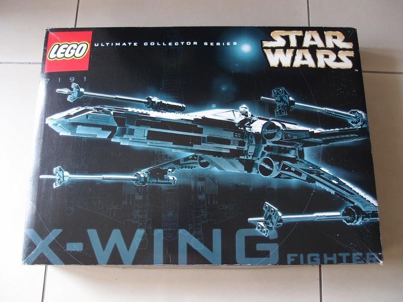 【全新未組裝】LEGO 7191 星際大戰 Star wars X-WING X戰機 UCS