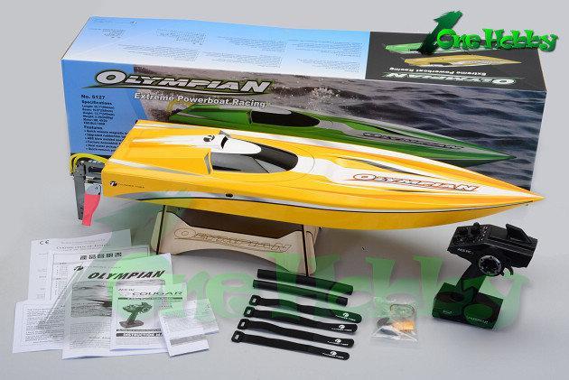 《One Hobby》雷虎科技OLYMPIAN(奧運選手)無刷動力電動快艇,極速達70-80km/h,同級品最高規格動力