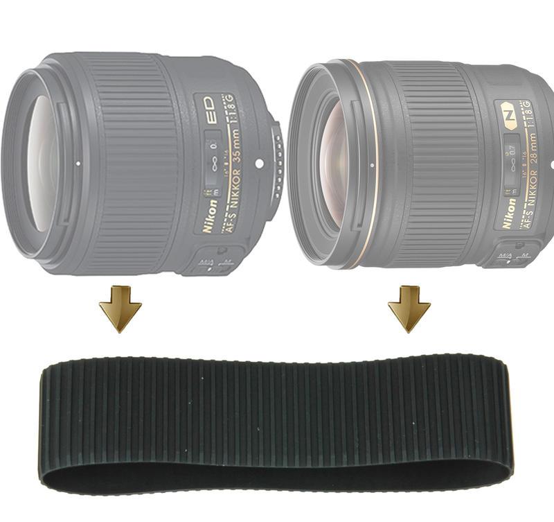 Rubber Ring Nikon 20mm F1.8G 28mm F1.8G 35mm F1.8G 對焦皮 對焦環