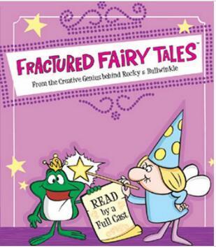 英語原聲動畫 經典童話改編 Fractured Fairy Tales 10DVD