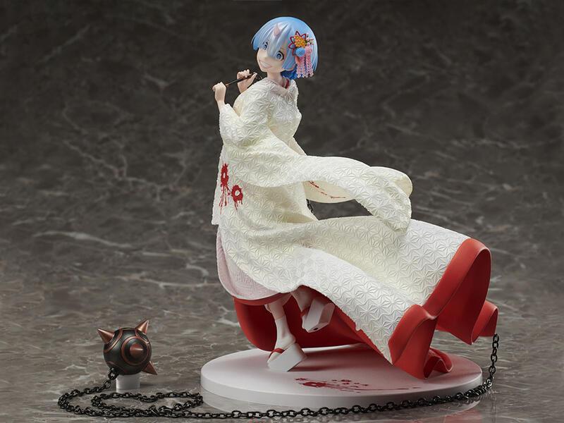 【漢斯模型】追單 F:NEX Re:從零開始的異世界生活 雷姆 白無垢 鬼新娘 鬼嫁 1/7 PVC
