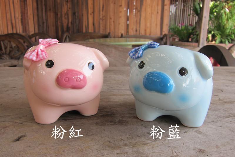豬事順心存錢筒_粉色_療癒系_五穀文化村陶瓷觀光工廠