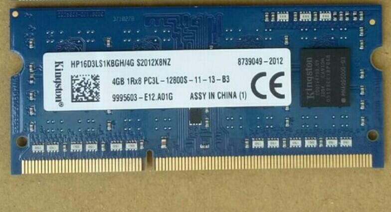 筆電用記憶體_DDR3L 1600 4G_低電壓_KINGSTON