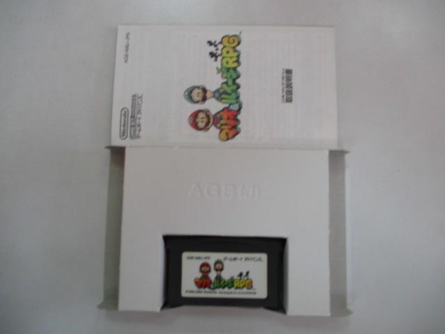 GBA 日版 GAME 盒裝瑪利歐與路易吉RPG (41031483)