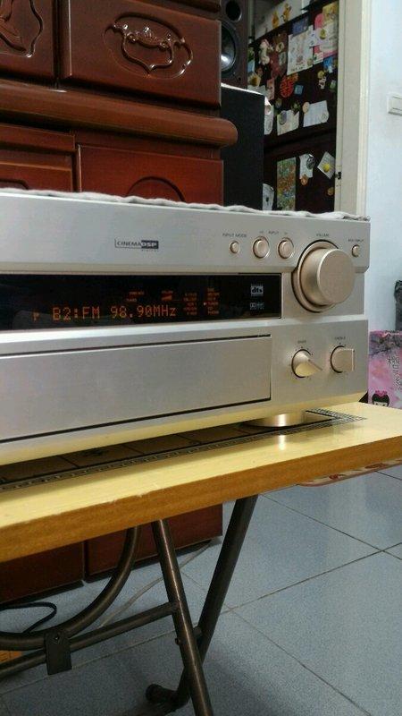 YAMAHA  RX-V800 擴大機  -再送簡易遙控器一支.可調整音場參數