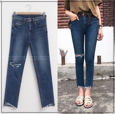 韓國妹cb30722❤韓國製造質感超好+就是瘦就是瘦!牛仔褲❤25-30