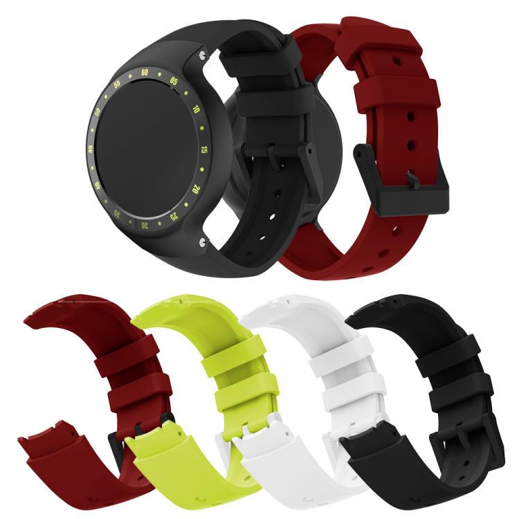 【現貨】ANCASE Ticwatch S 軟膠錶帶 矽膠錶帶 錶鏈